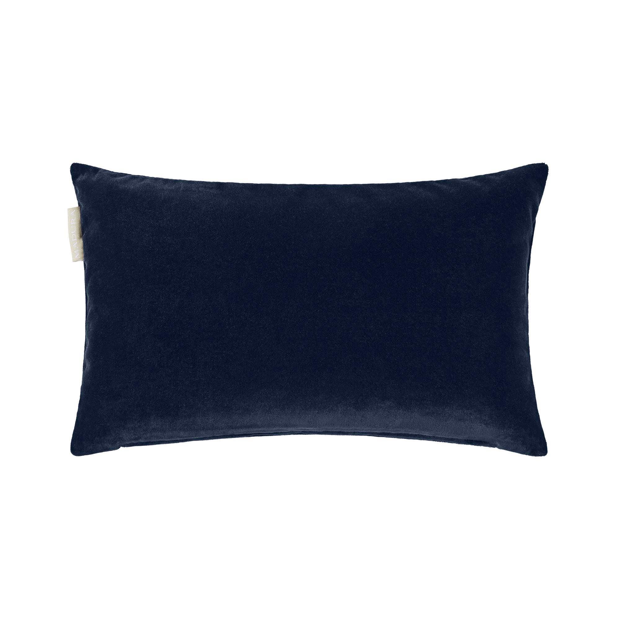 Housse de coussin 28x47 cm Bleu marine