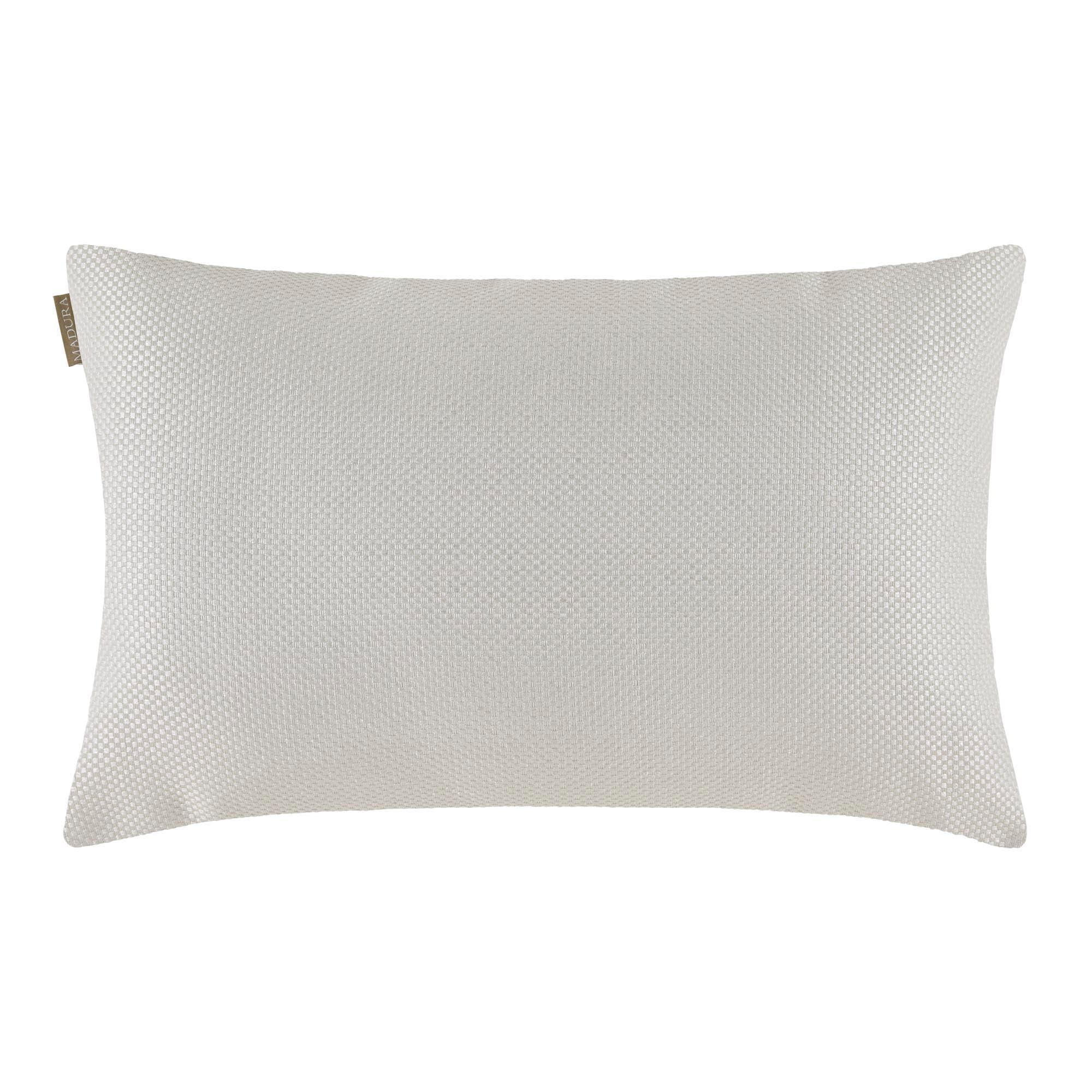 Housse de coussin 45x70 cm Blanc