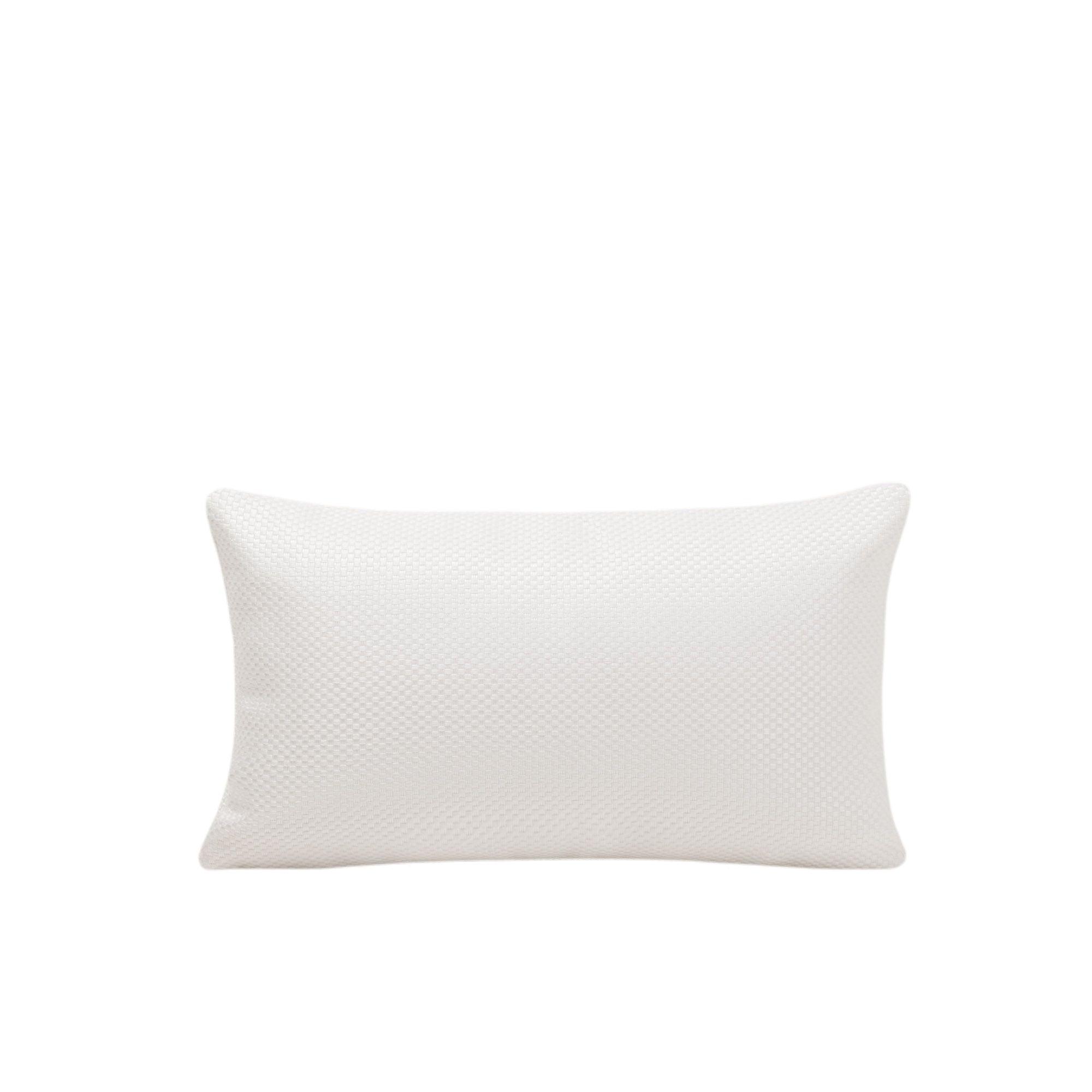 Housse de coussin 28x47 cm Blanc