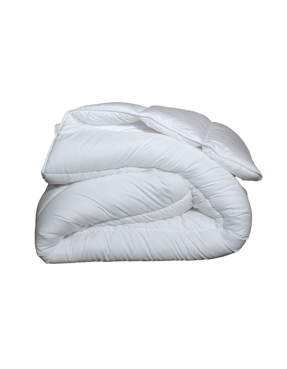 Couette naturelle  chaude  90% duve Blanc 140x200 cm