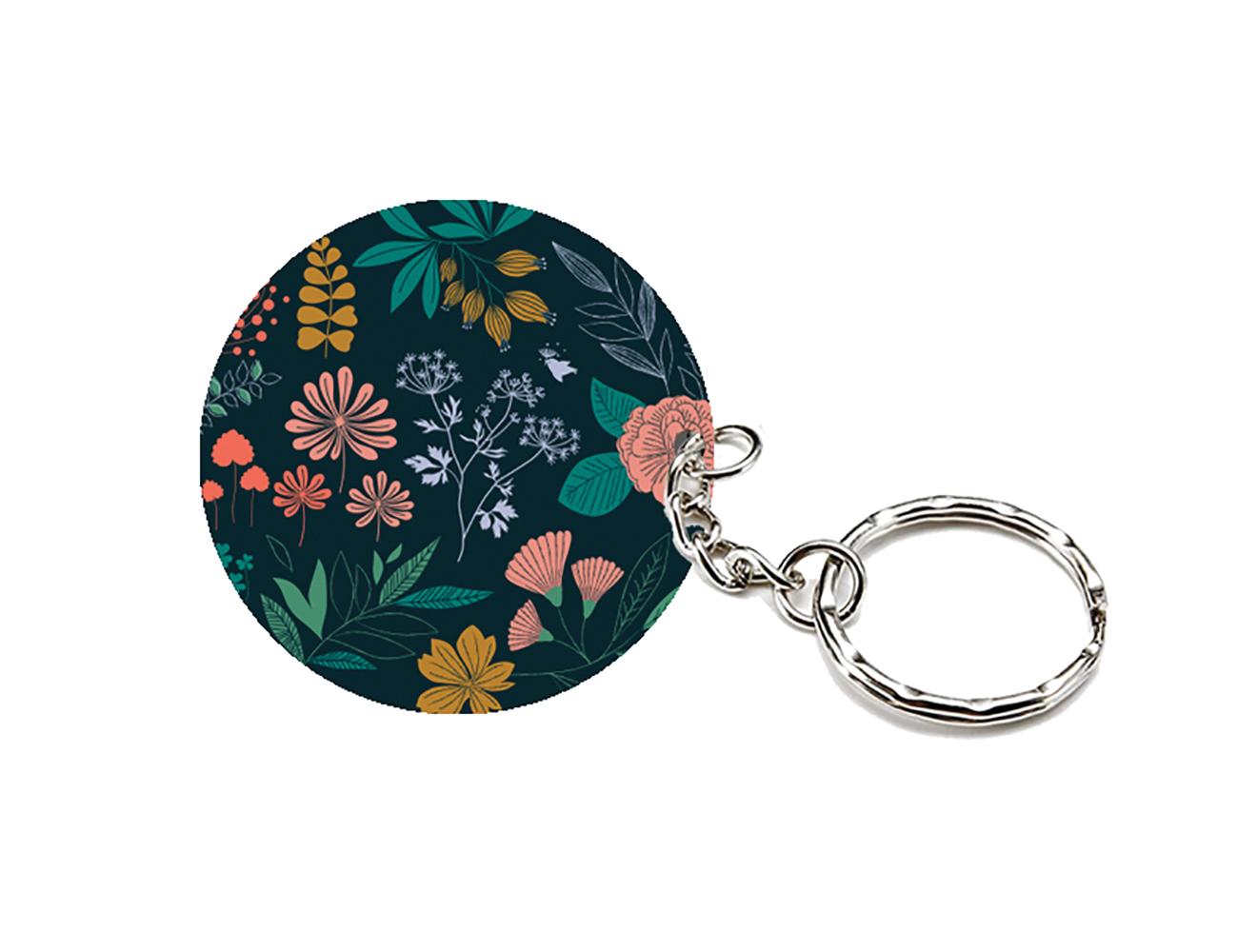 Porte-clés herbier
