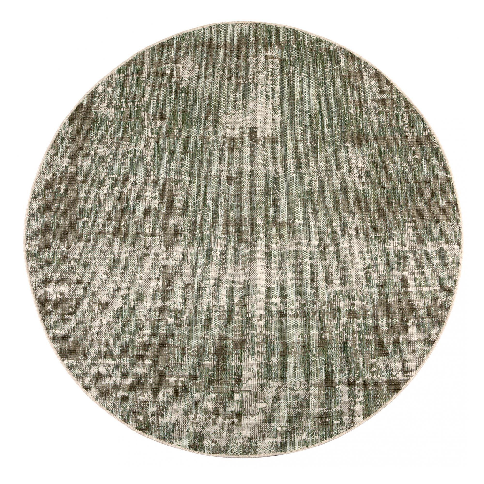 Tapis  en polypropylène agave diamètre 160