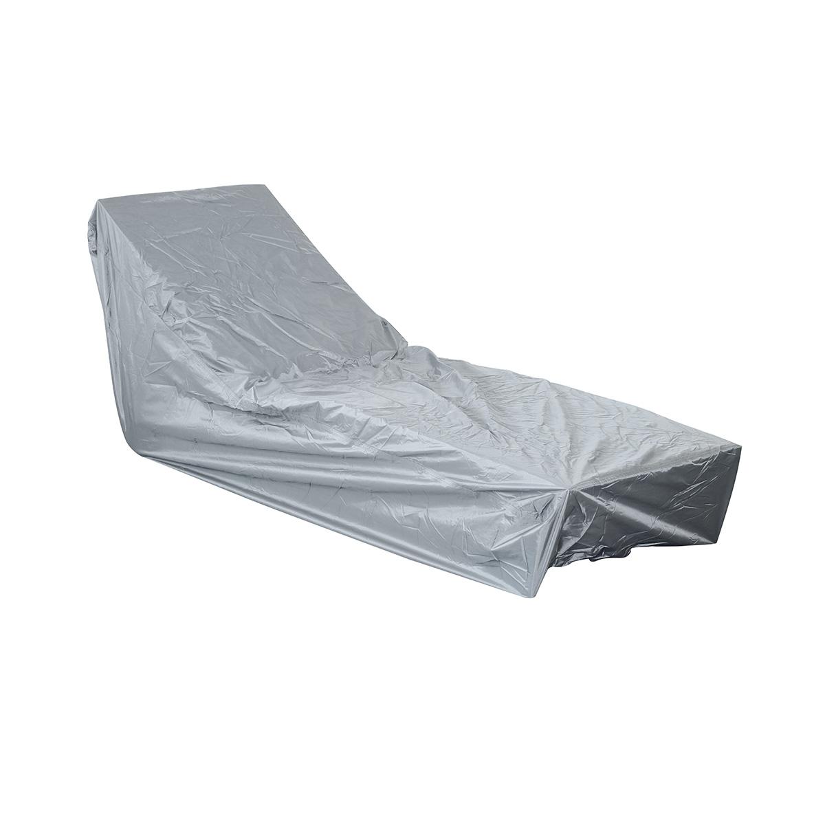 Housse de protection pour bain de soleil 200 x 75 x 45