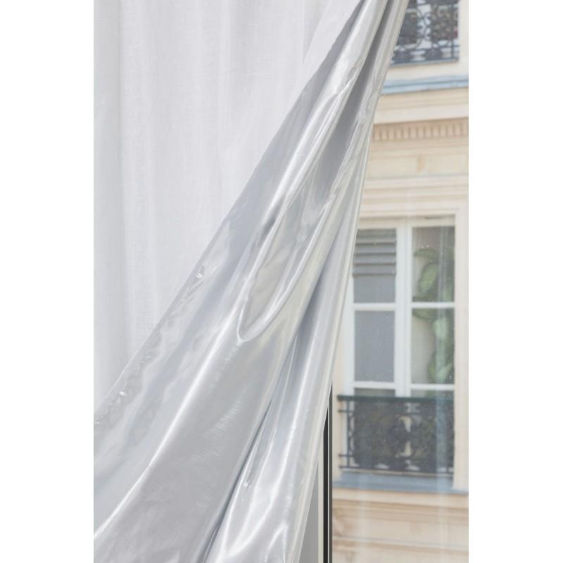 Voilage thermique blanc 140 x 260