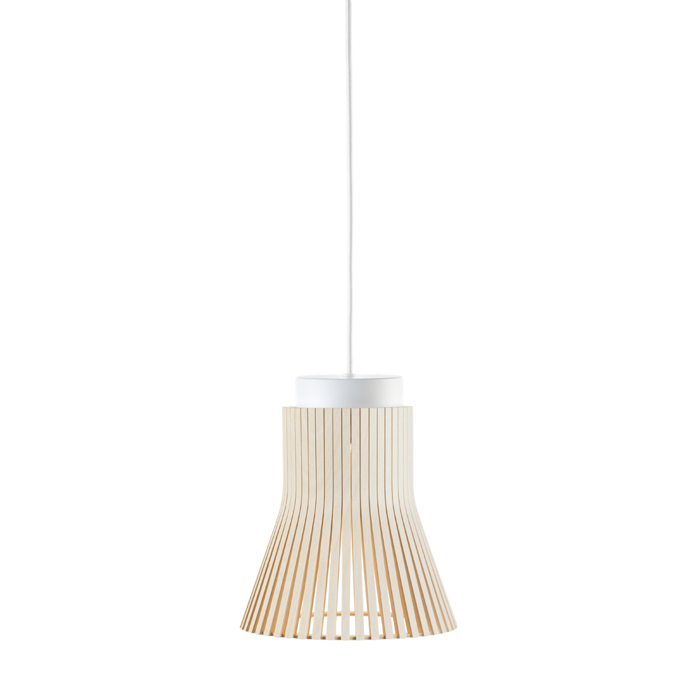 Lampe suspension bouleau