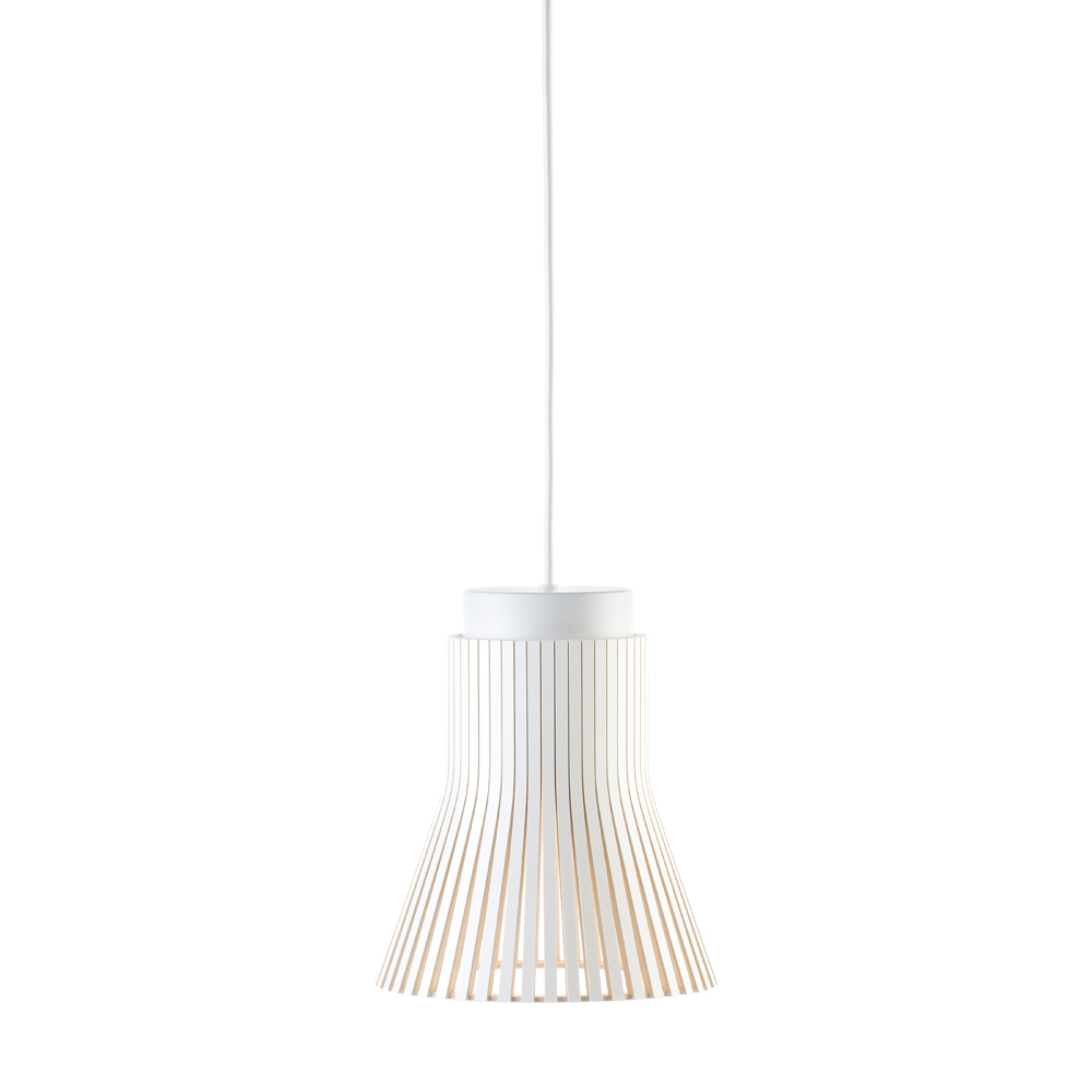Lampe suspension blanche