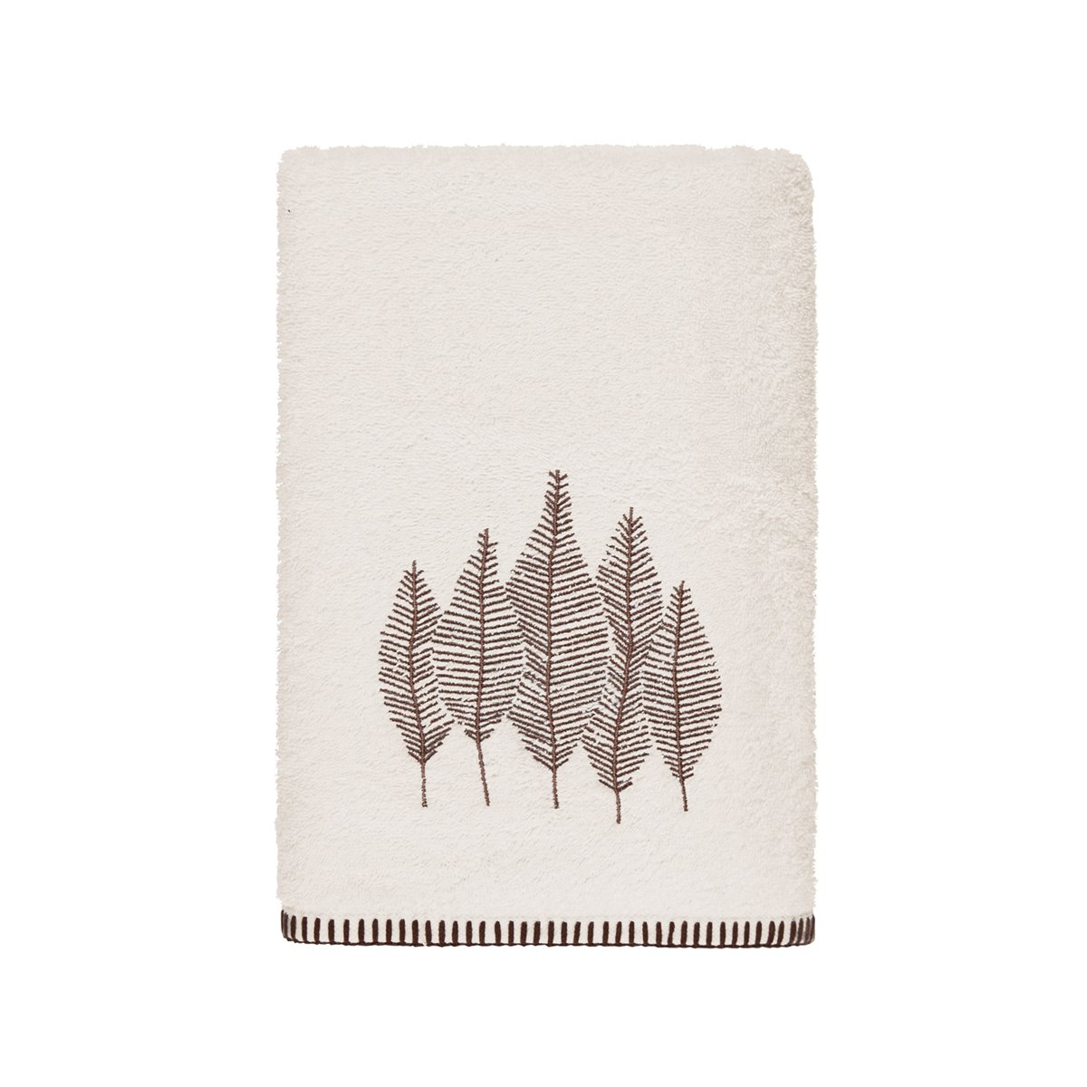 ABACHI - Drap de bain en coton biologique  Ecru 70x140 cm