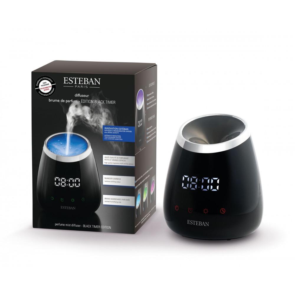 Diffuseur brume de parfum black timer