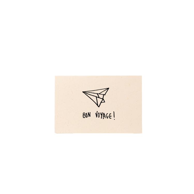 Carte Mini Bon Voyage