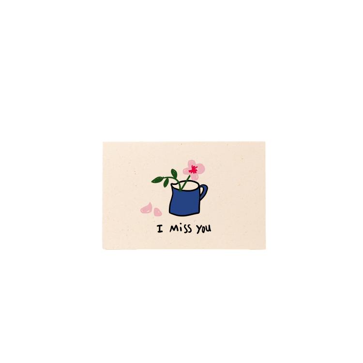 Carte Mini I Miss You