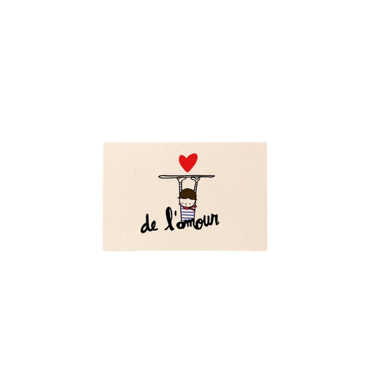 Carte Mini De l'amour