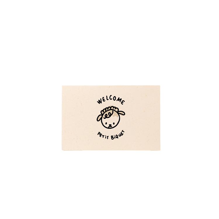 Carte Mini Biquet