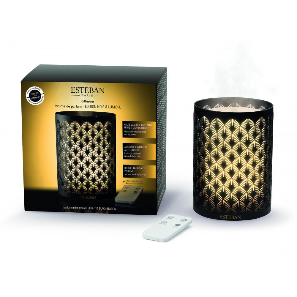 Diffuseur brume de parfum édition noir et lumière