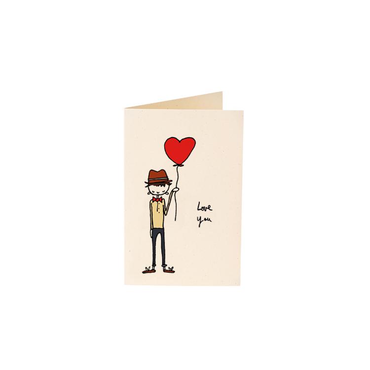 Carte Love Balloon