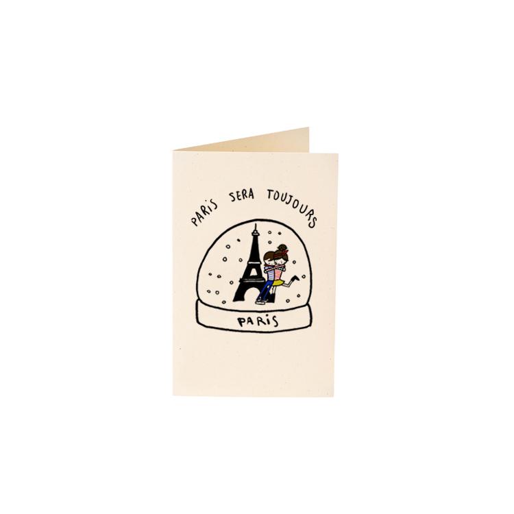 Carte Snowglobe