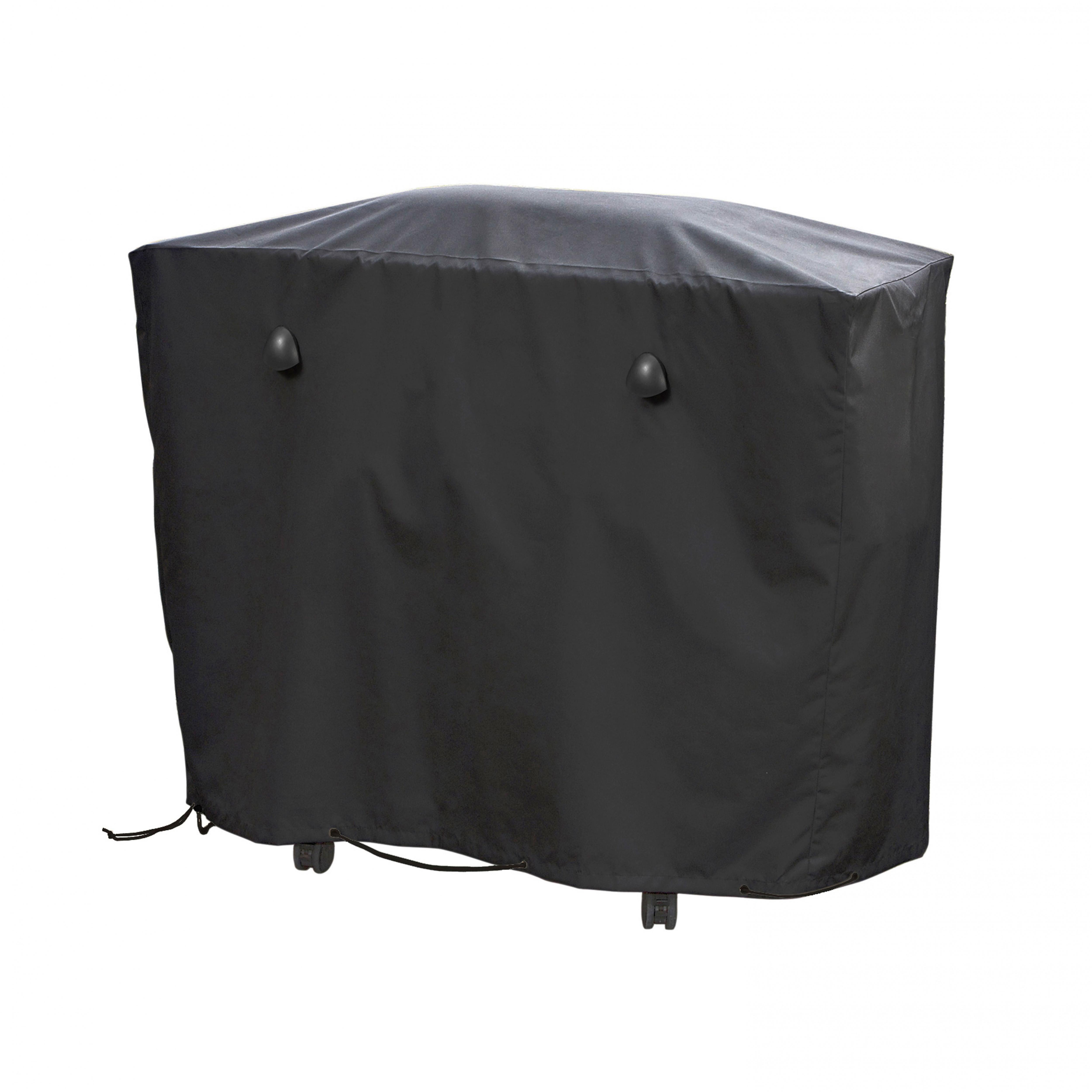 Housse de barbecue noire 102 x46 x 92 cm