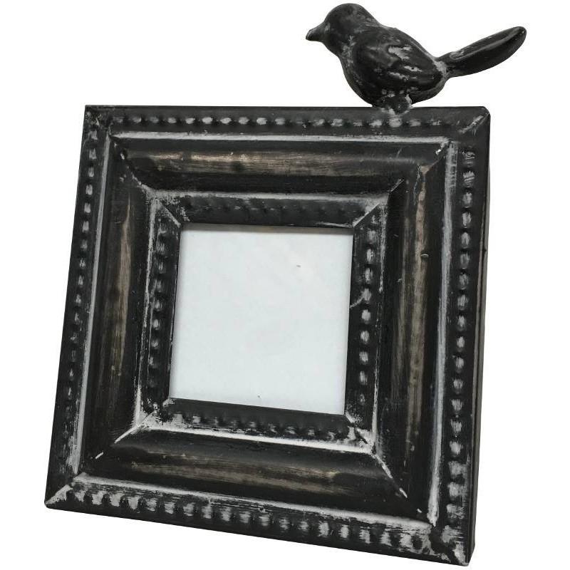 Cadre photo porte photo à poser oiseau en fer 16x12