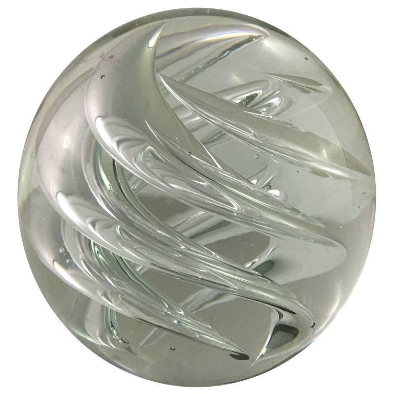 Presse-papier boule en verre transparent D10