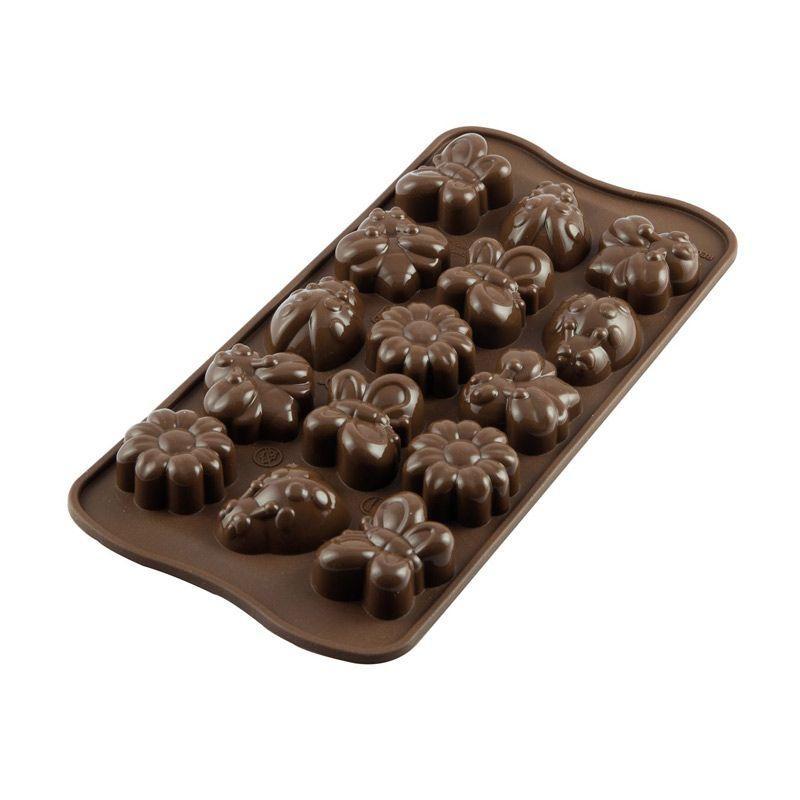 Moule à chocolats printemps