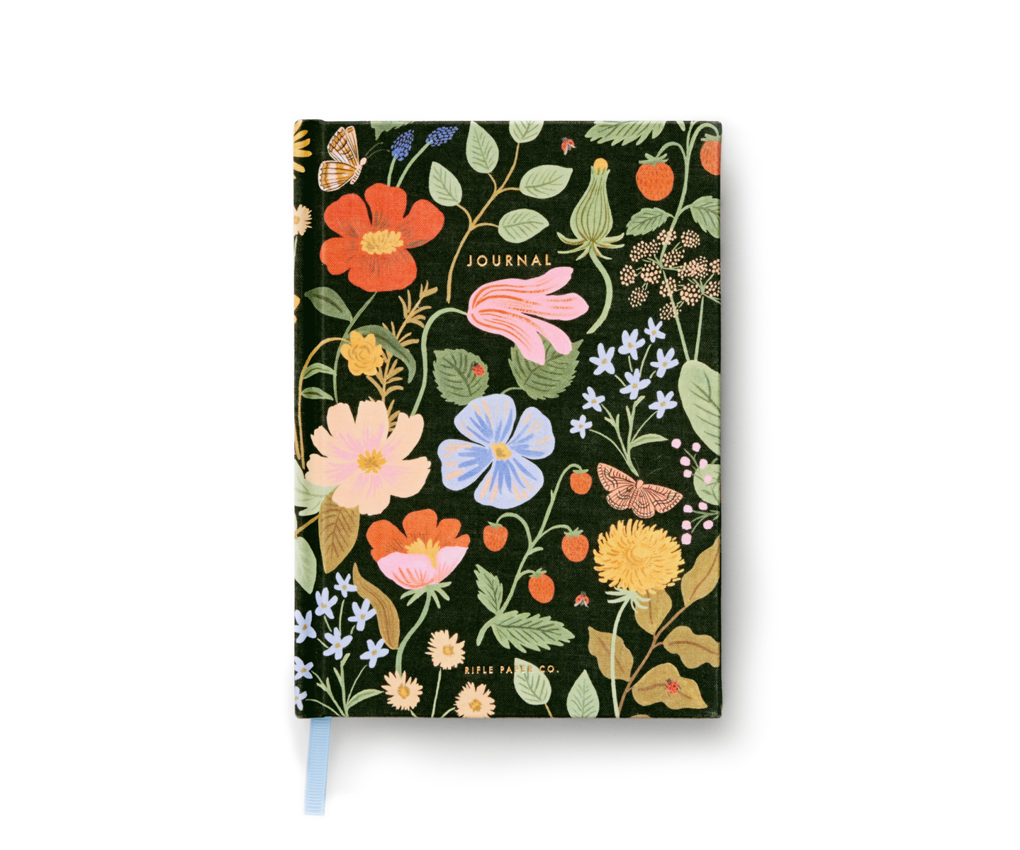 Journal couverture rigide Strawberry Fields