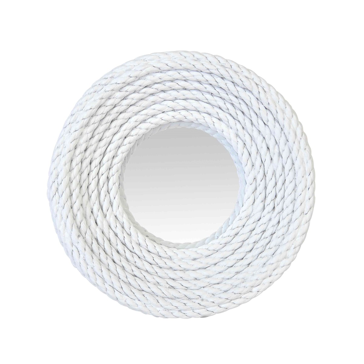 Miroir convexe corde blanche en résine D28