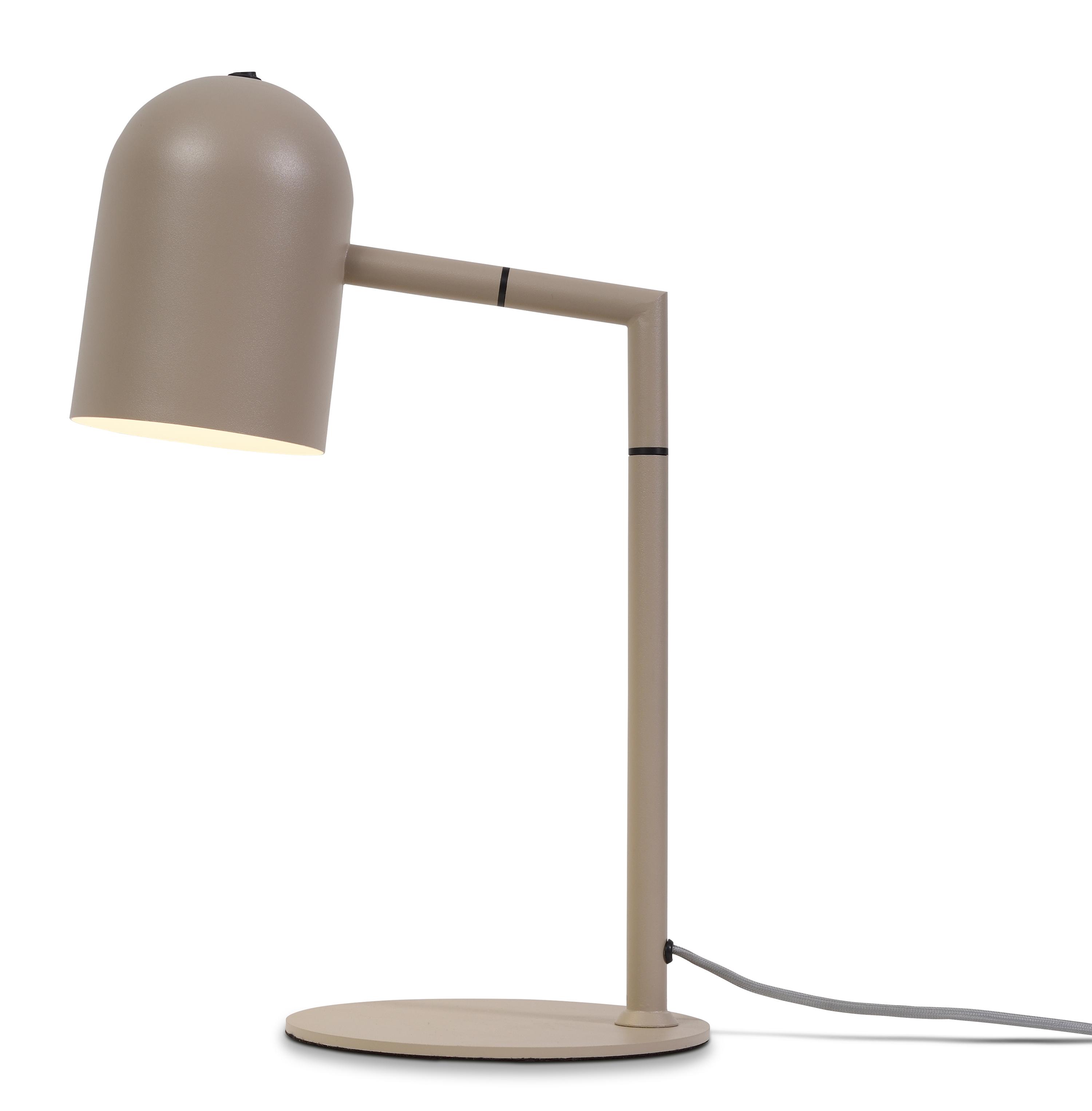 Lampe de table beige H45cm