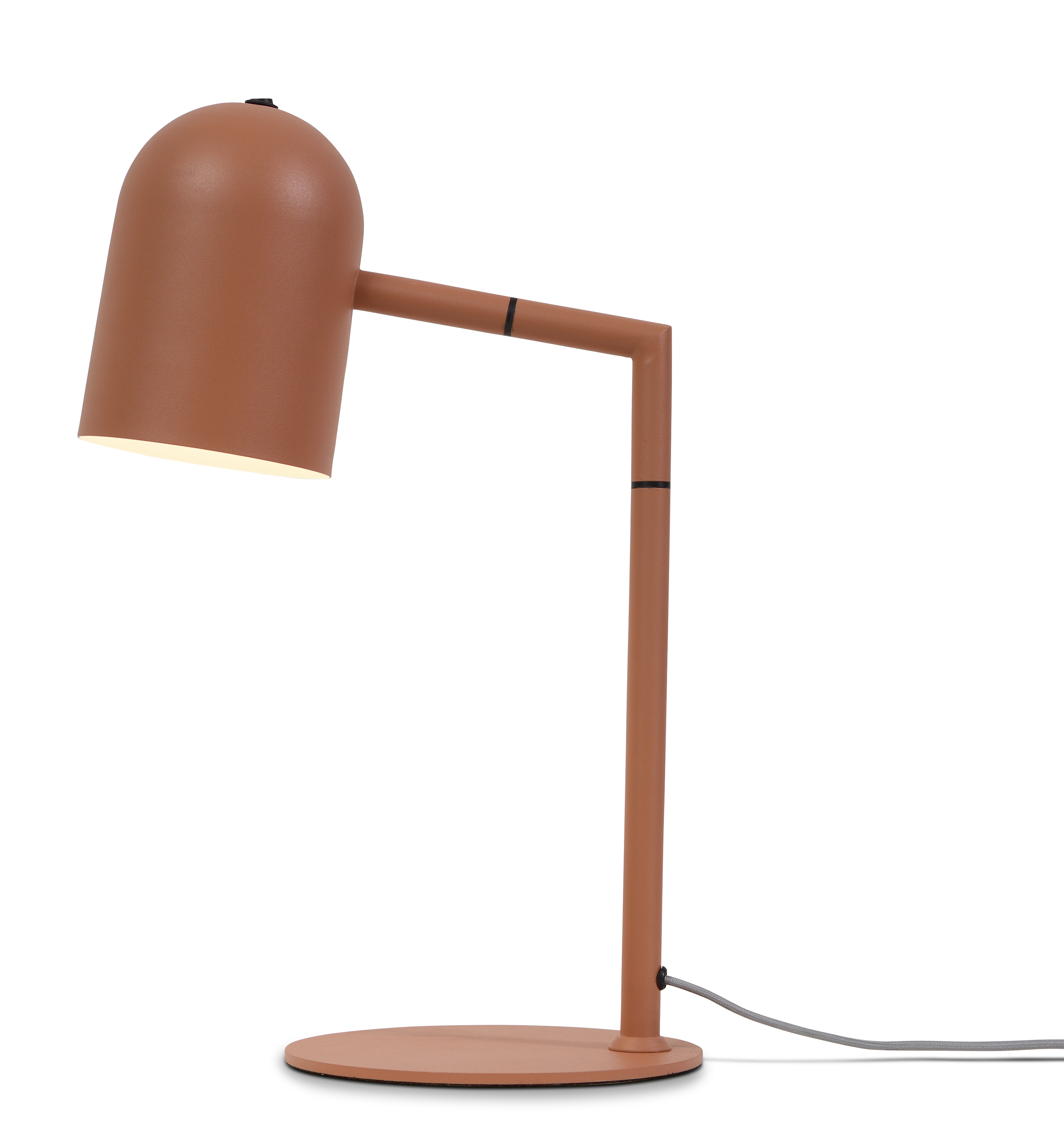 Lampe de table orange H45cm