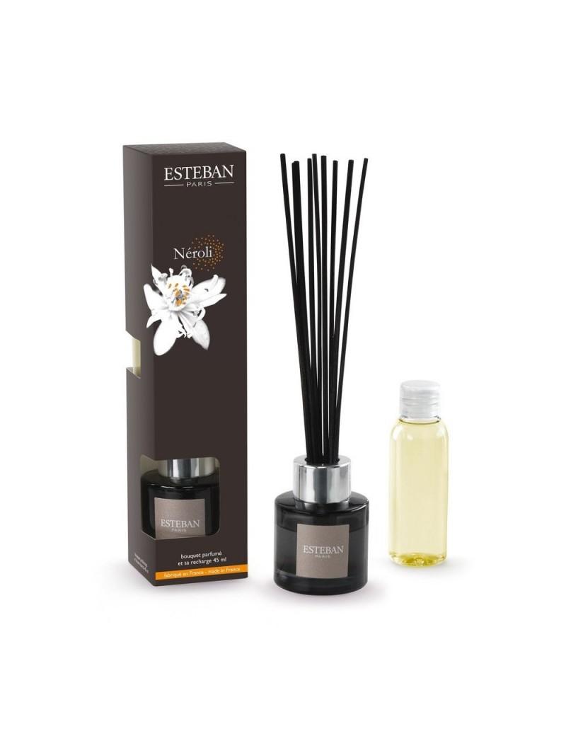 Bouquet parfumé mini et sa recharge 45ml néroli