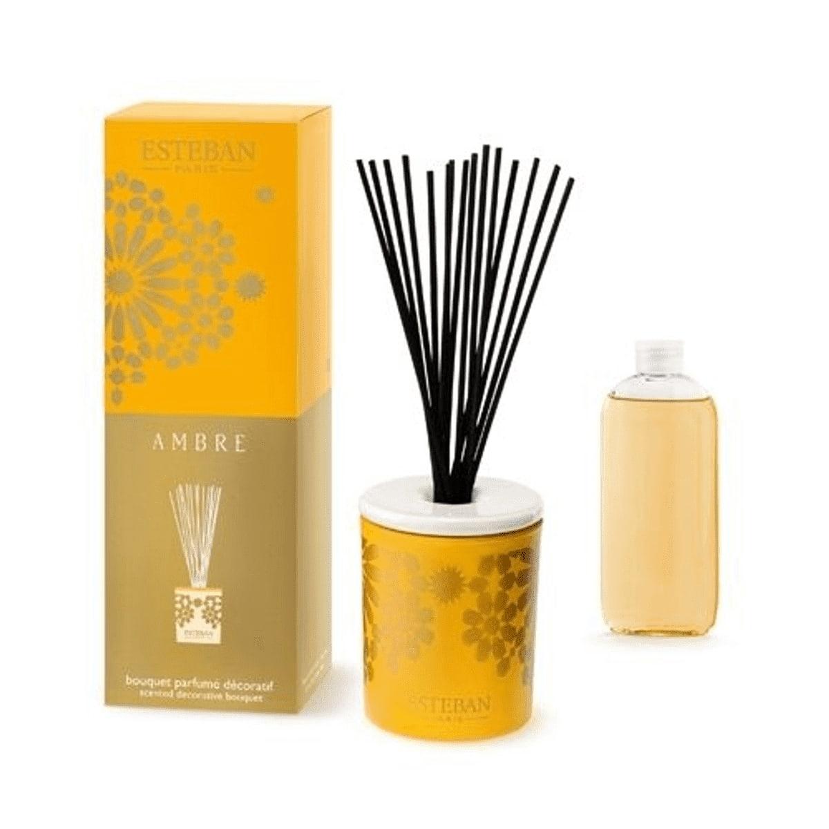 Bouquet parfumé décoratif ambre