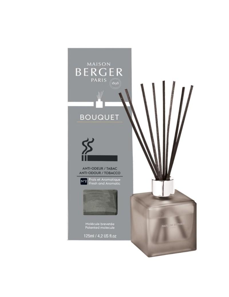 Bouquet parfumé cube odeurs de tabac givré