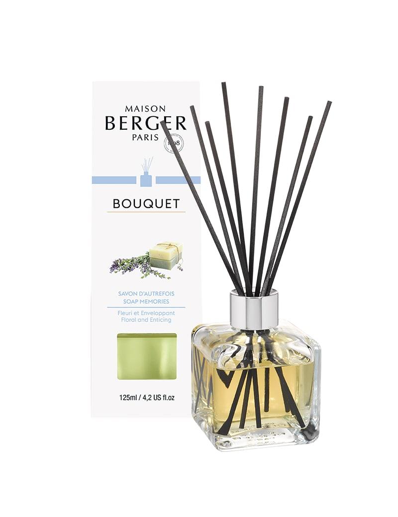 Bouquet parfumé cube savon d'autrefois