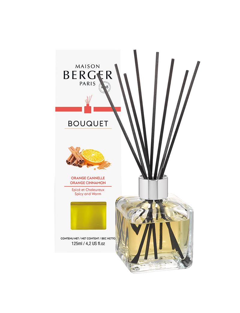 Bouquet parfumé cube orange de cannelle