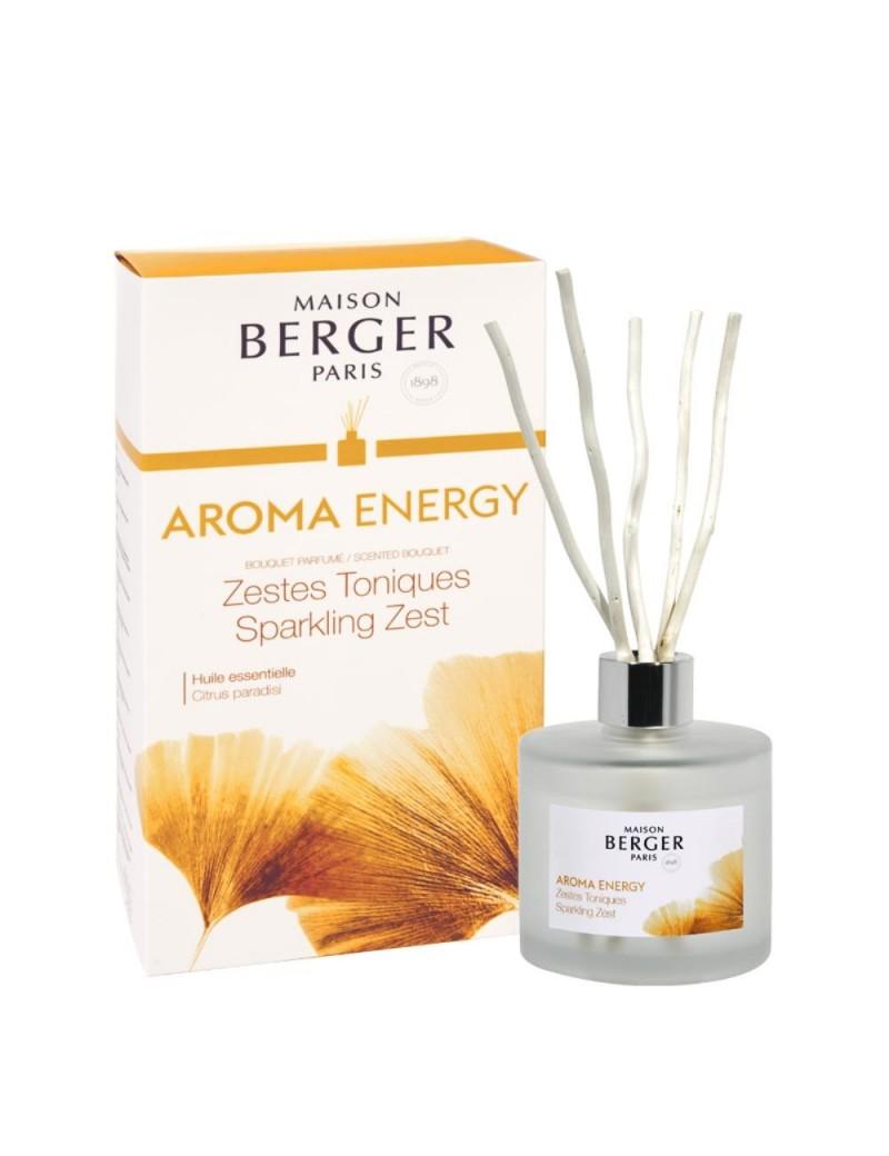 Bouquet parfumé aroma energy zestes toniques