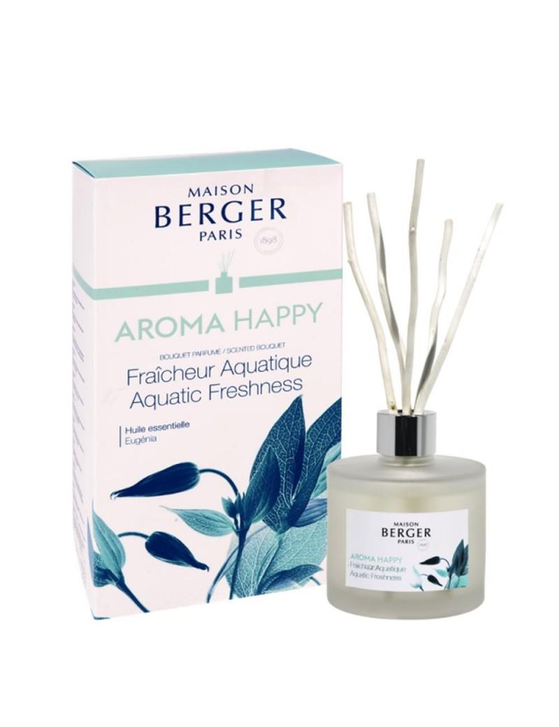 Bouquet parfumé aroma happy fraîcheur aquatique