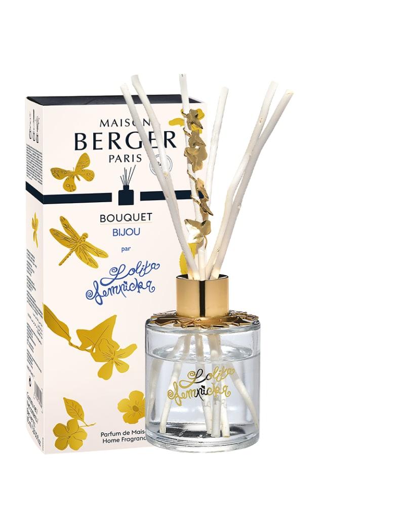 Bouquet parfumé bijou transparent Lolita Lempicka