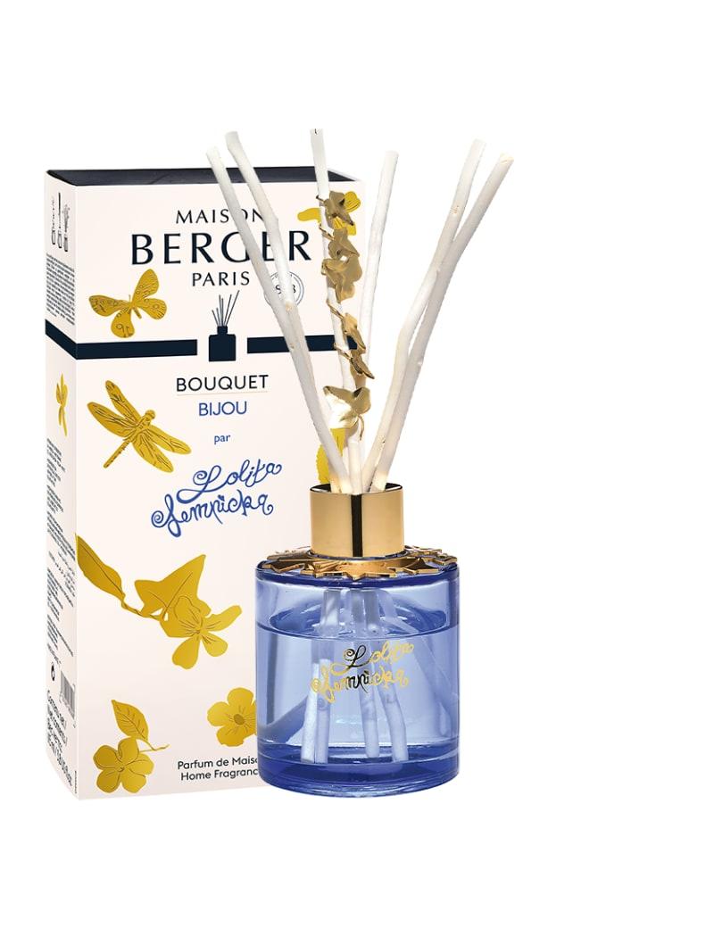 Bouquet parfumé bijou parme Lolita Lempicka