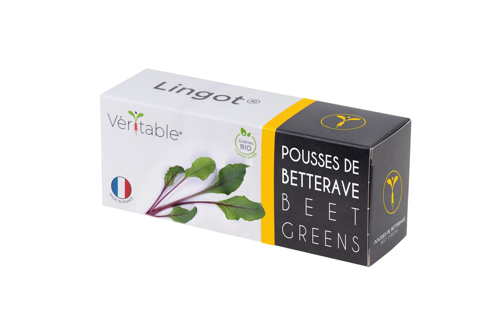 Lingot® Pousses de Betterave BIO compatible potager Véritable®
