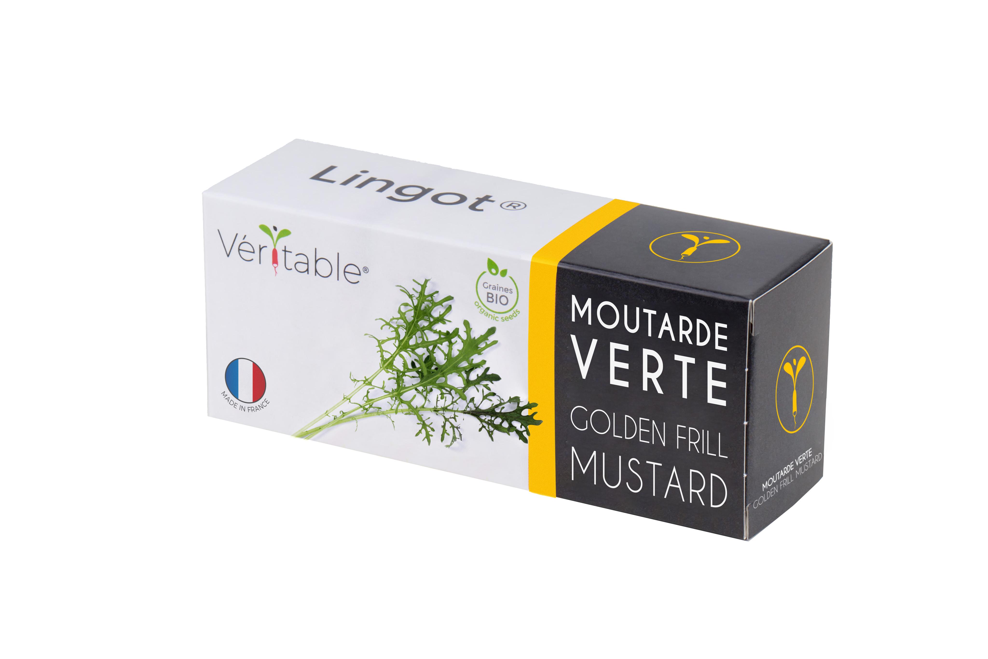 Lingot® Moutarde Verte BIO compatible potager Véritable® et Exky®
