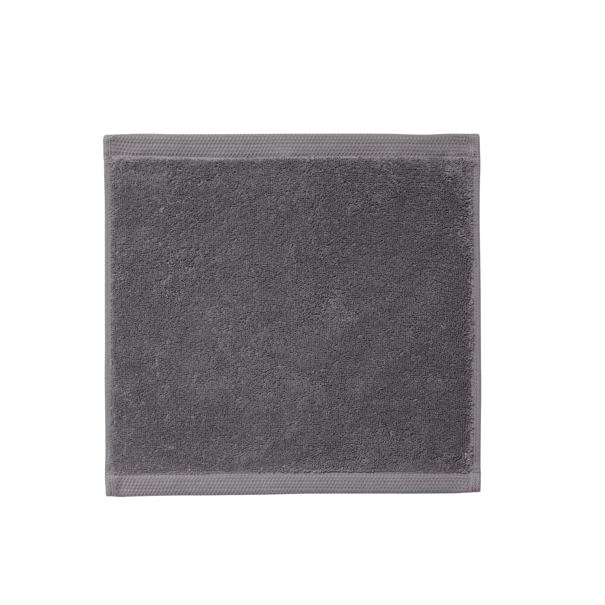 Carré visage en gris graphite 30x30