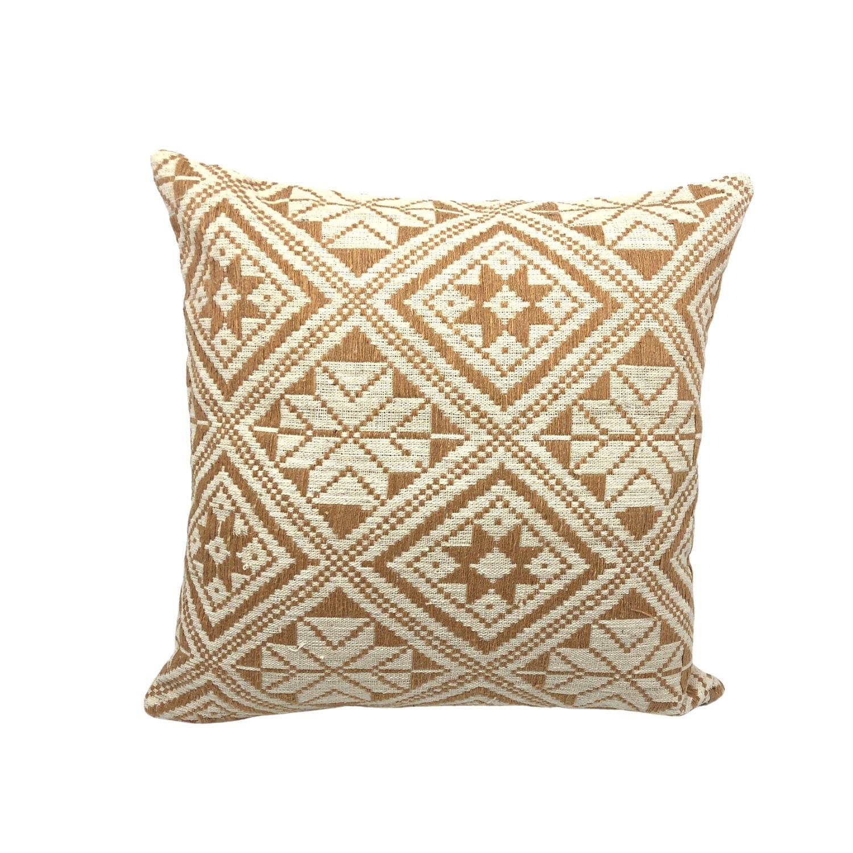 Pochette tissée en coton orange 18x26