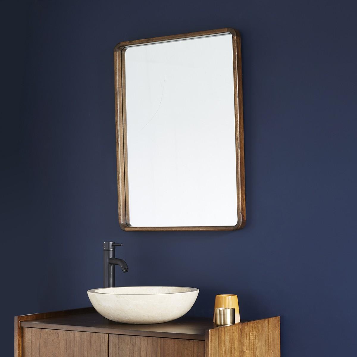 Miroir en bois de mindy 60x80
