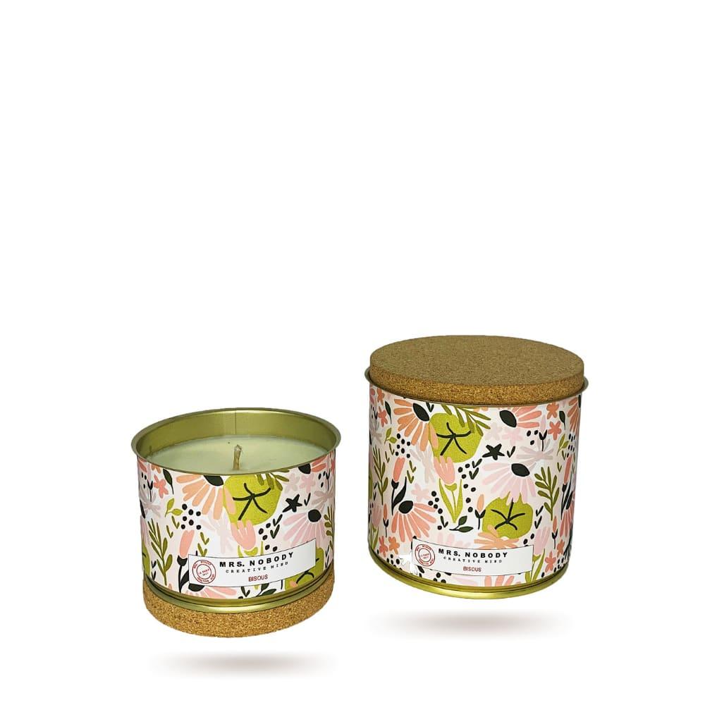 Bougie Végétale Parfumée - Bisous - Tonka Bergamot - 220g