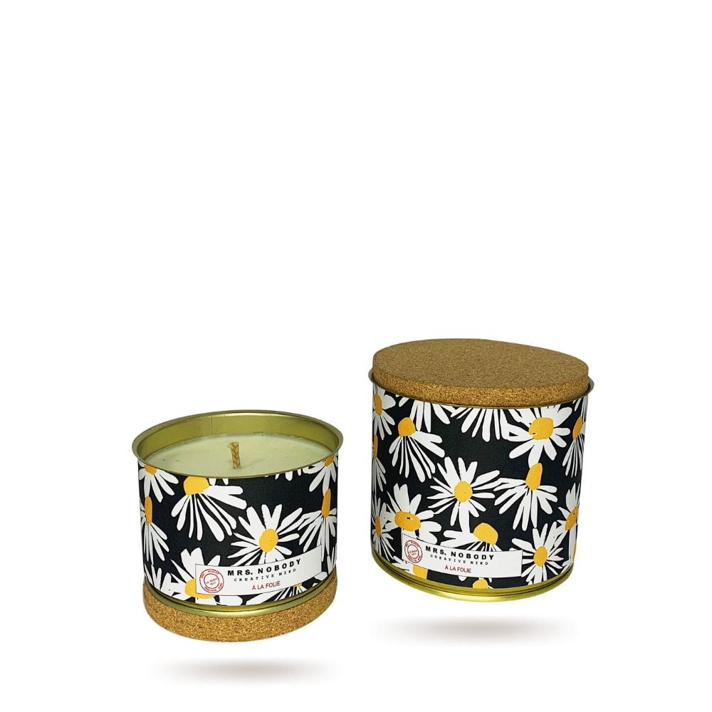 Bougie Végétale Parfumée - À La Folie - Orange Blossom Tabacco - 220g