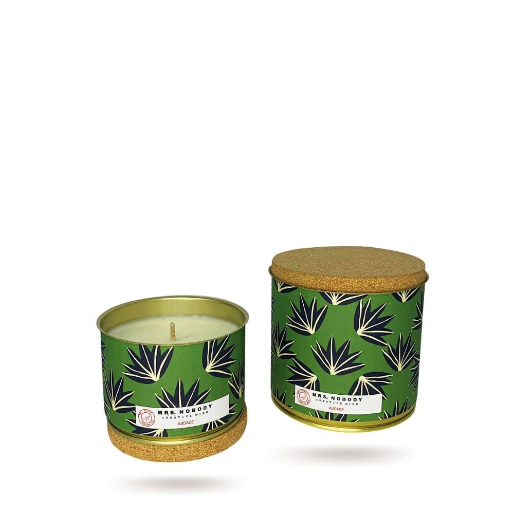 Bougie Végétale Parfumée - Audace - Tonka Bergamot - 490g