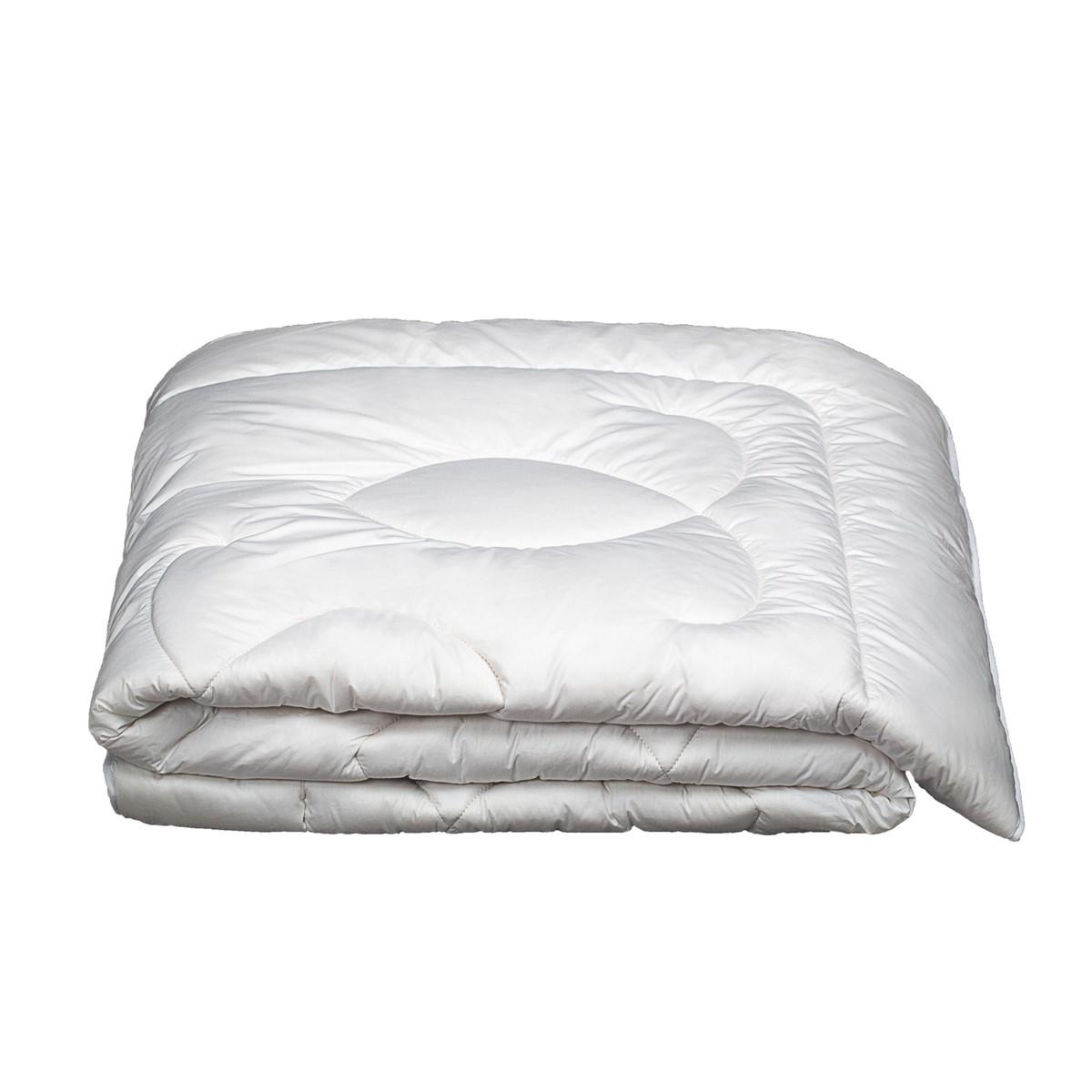 Couette Chaude Naturel en Laine Très chaud Blanc 200x200 cm
