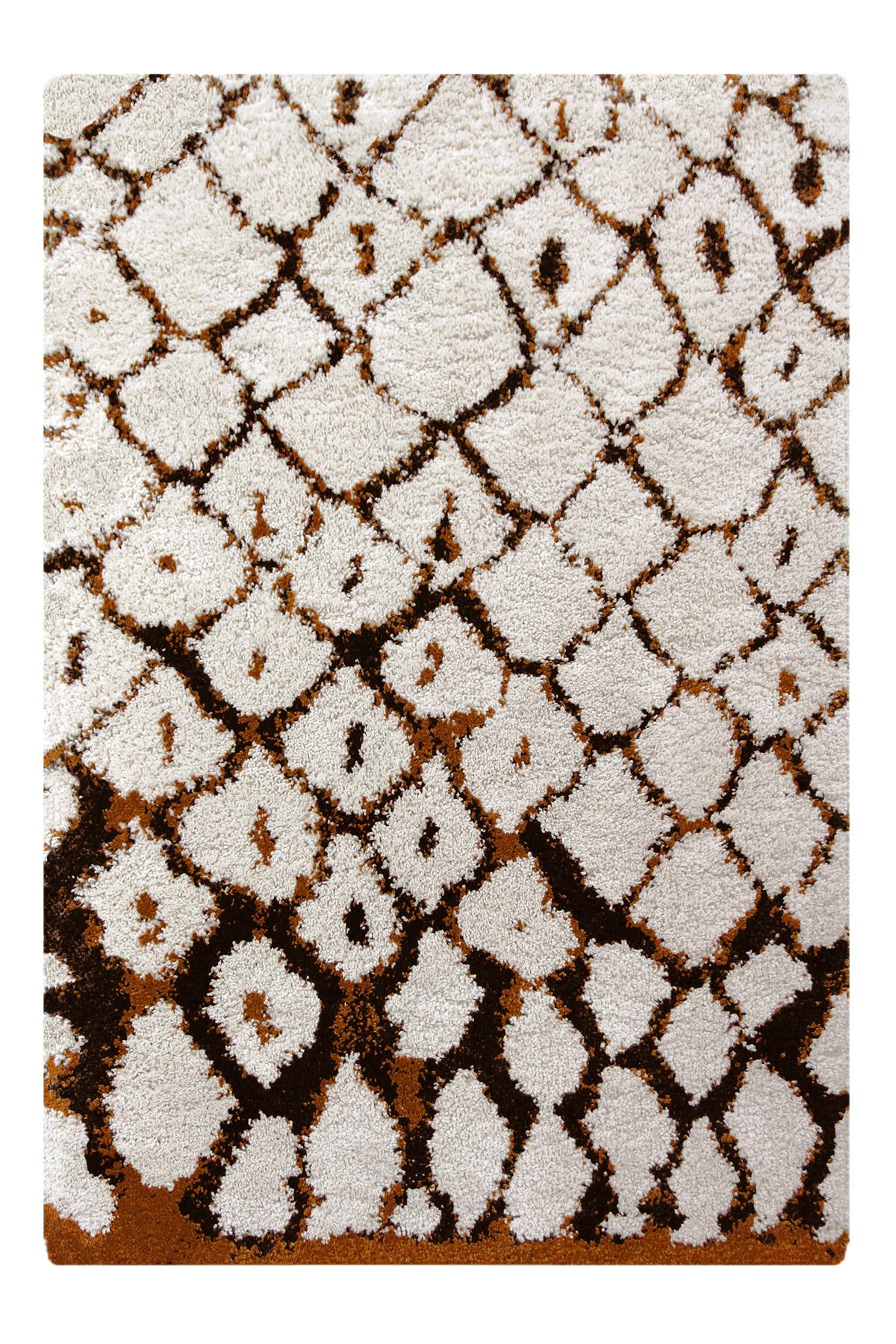 Tapis shaggy marrakech crème 160x230