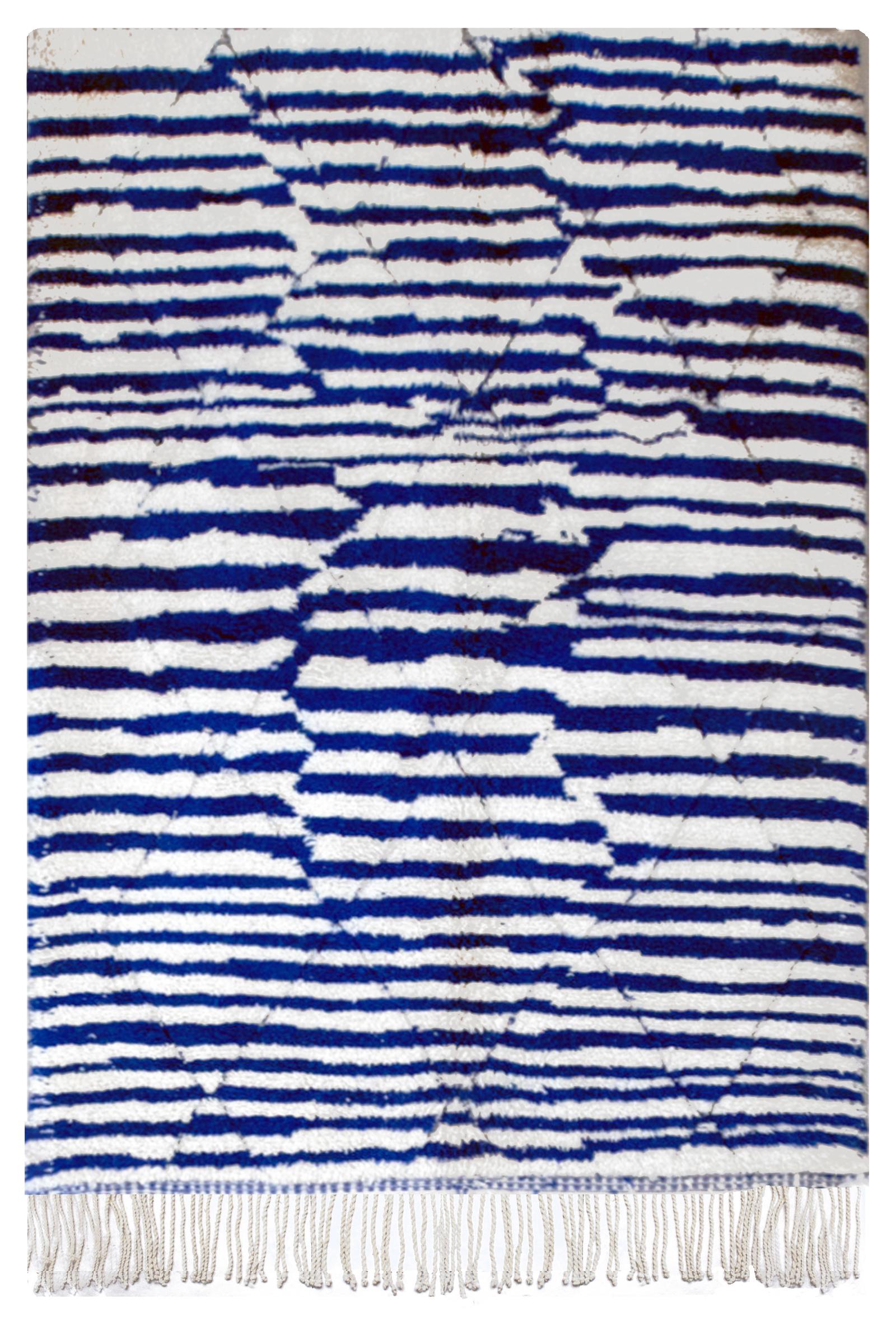 Tapis berbère original marocain laine Bahia 140x200
