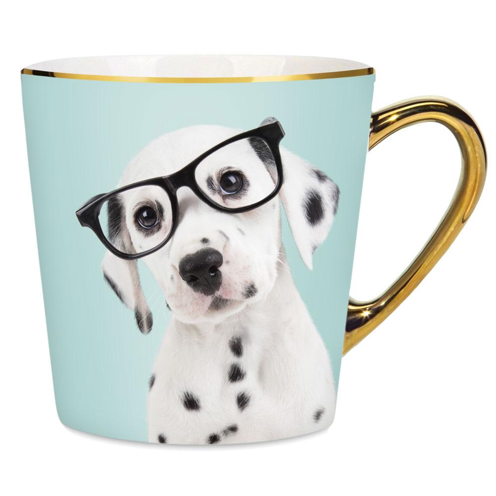 Tasse bleue chien 380ml