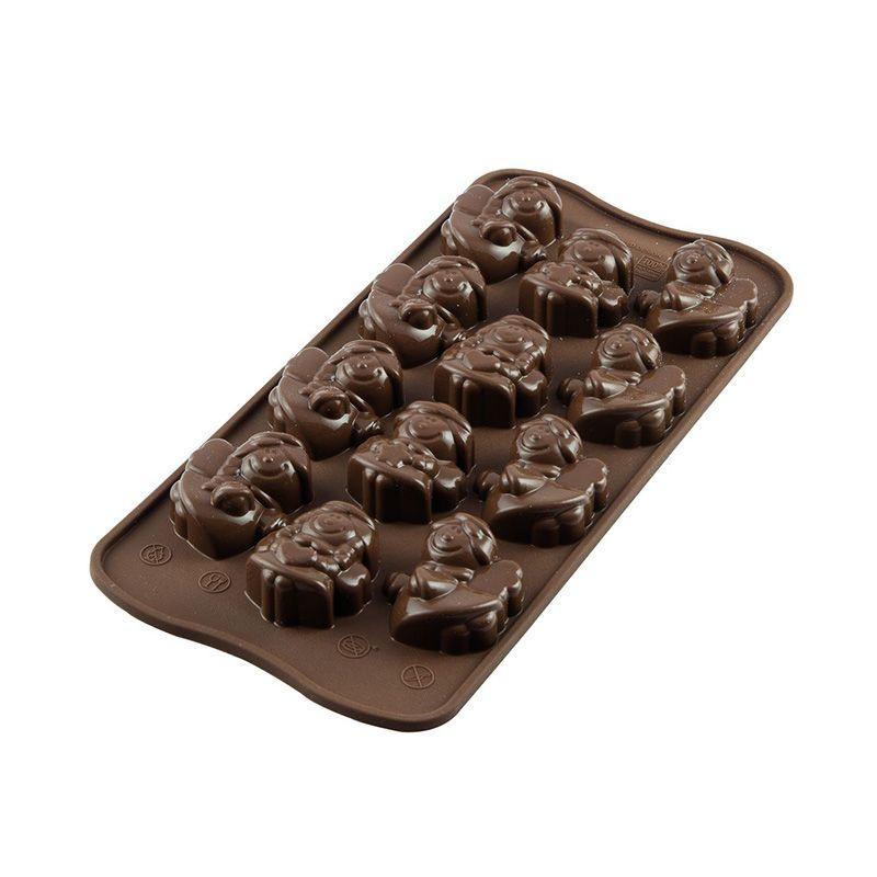 Moule à chocolats anges de Noël
