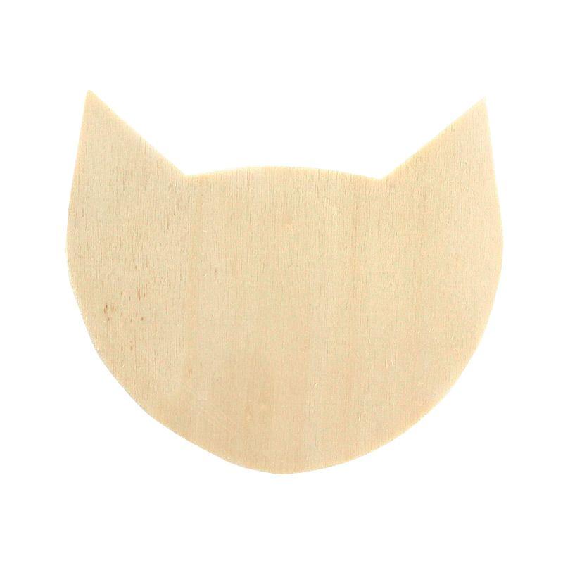 Patère chat 8,3x10,5x5cm